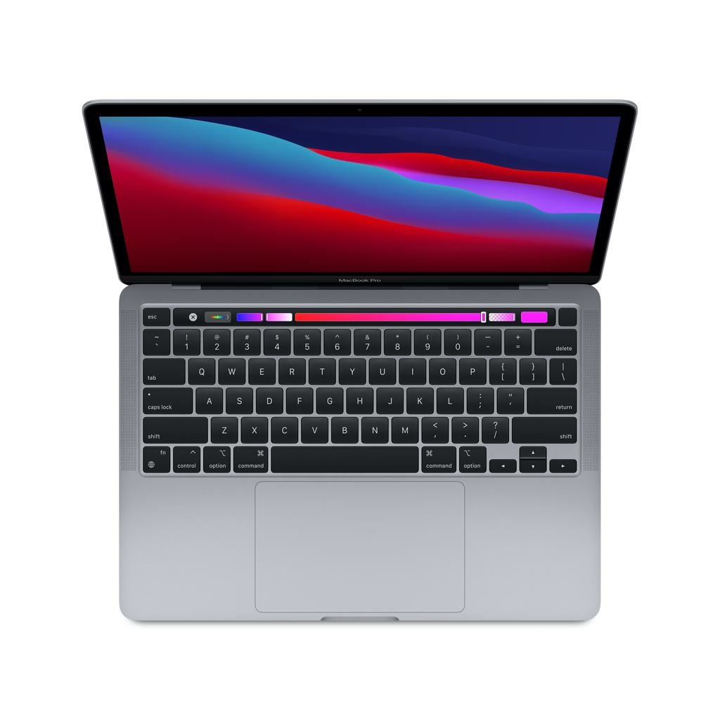 Apple NEW 13-inch MacBook Pro: Apple M1 chip with 8-core CPU and 8-core GPU, 8GB unified memory, 256GB - Space Gray