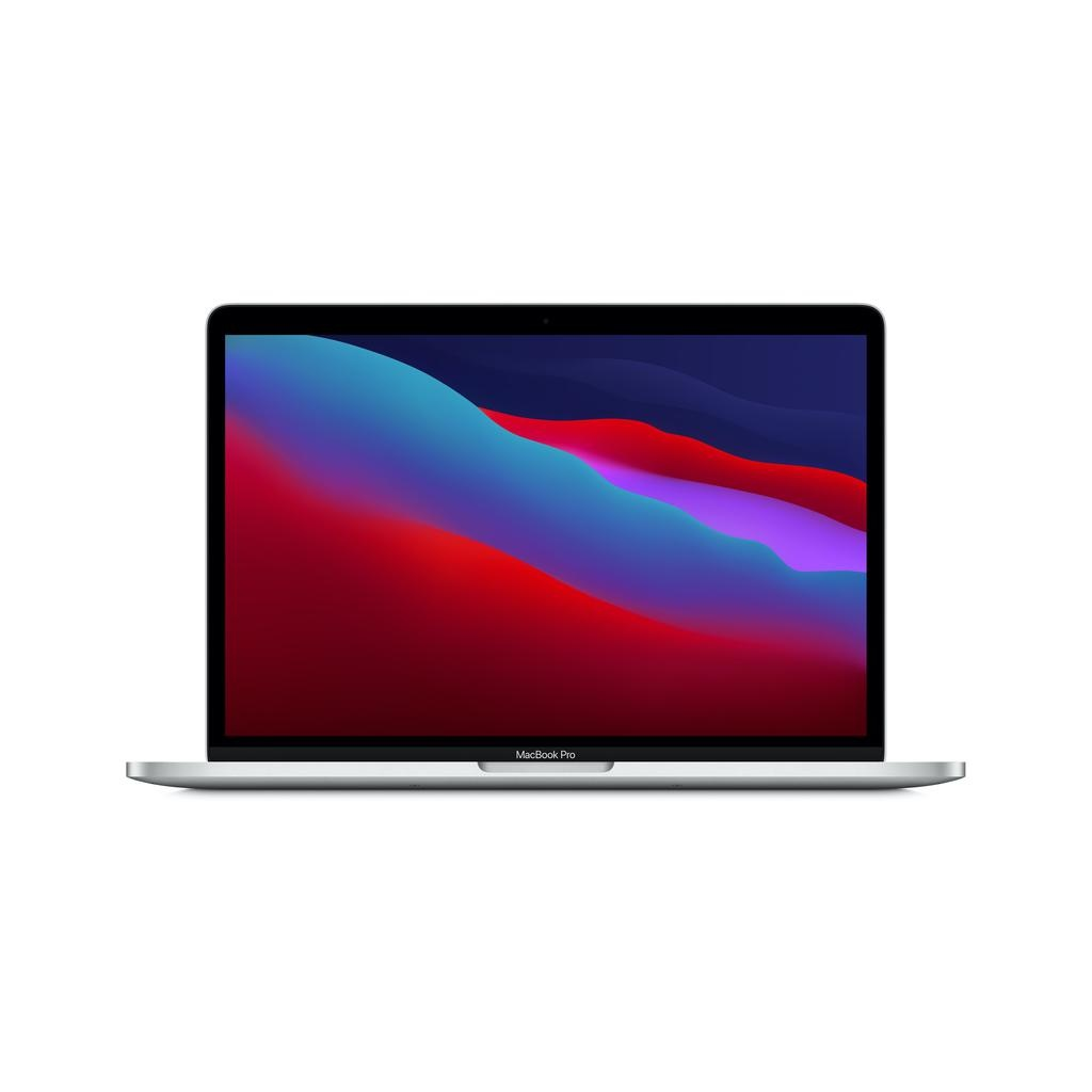 Apple NEW 13-inch MacBook Pro: Apple M1 chip with 8_core CPU and 8_core GPU, 8GB unified memory, 512GB SSD - Silver