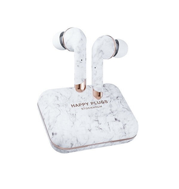 Happy Plugs Happy Plugs Air 1 Plus Wireless In-ear - White Marble