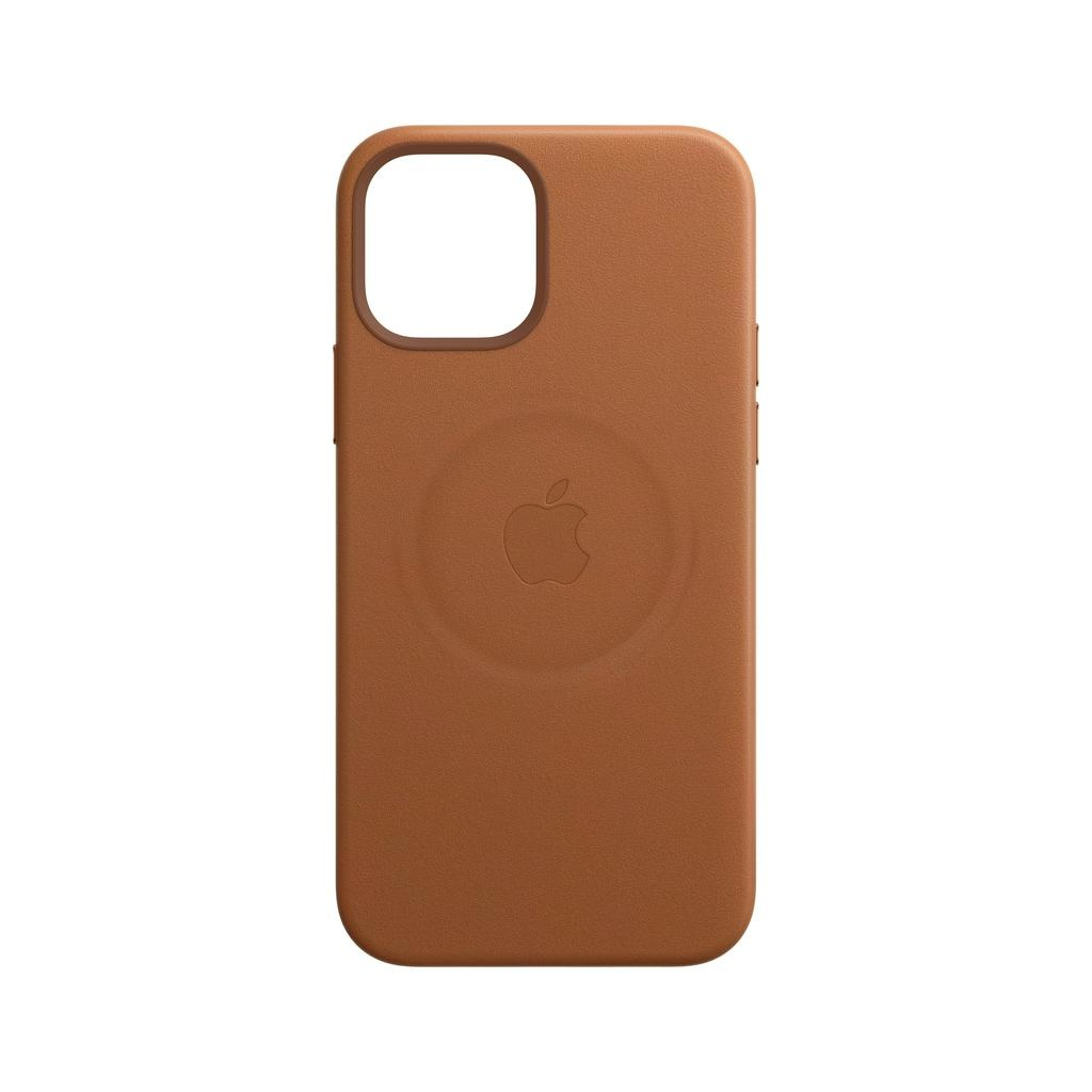 Apple iPhone 12 mini Leather Case with MagSafe - Saddle Brown