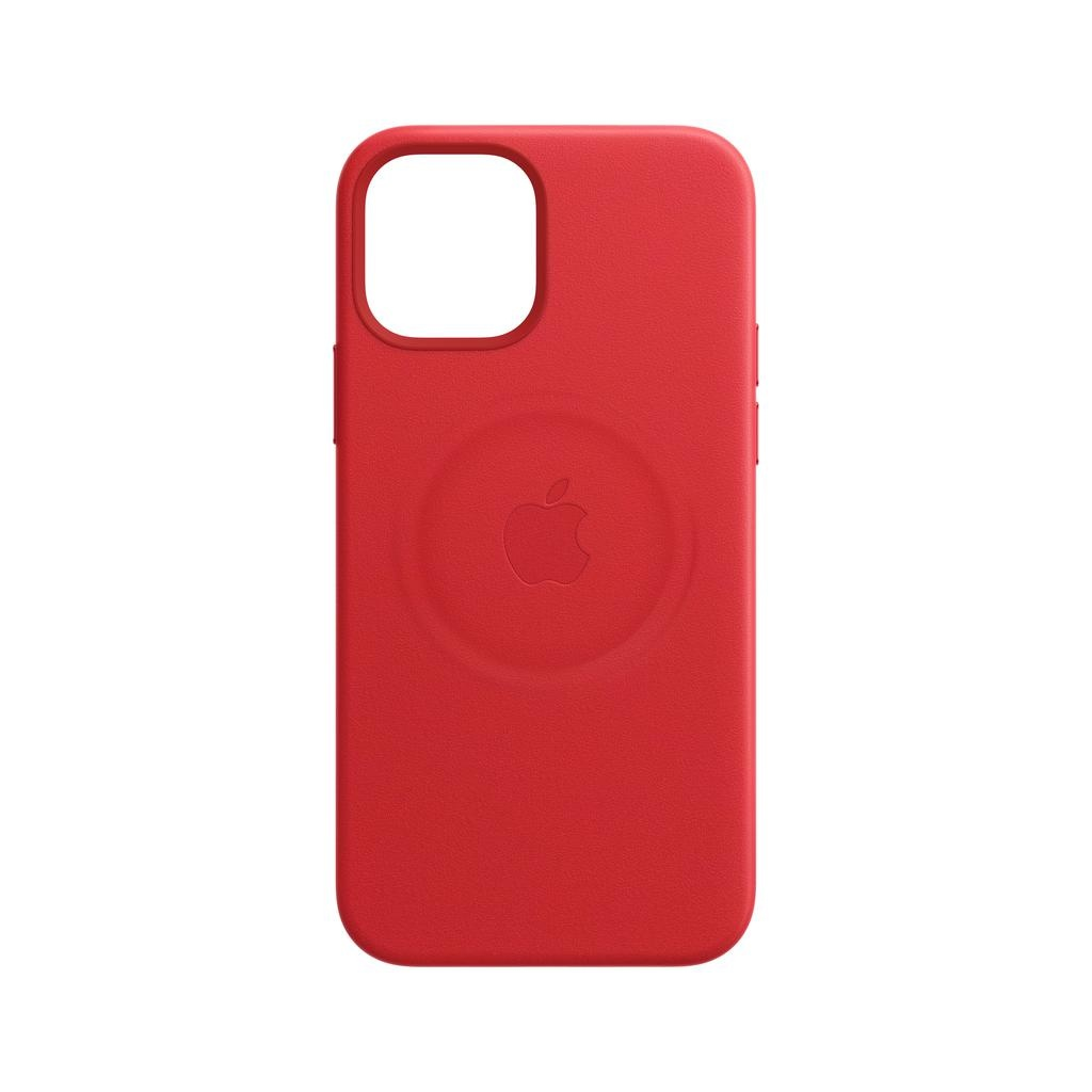Apple iPhone 12 | 12 Pro Leather Case with MagSafe - (PRODUCT)RED