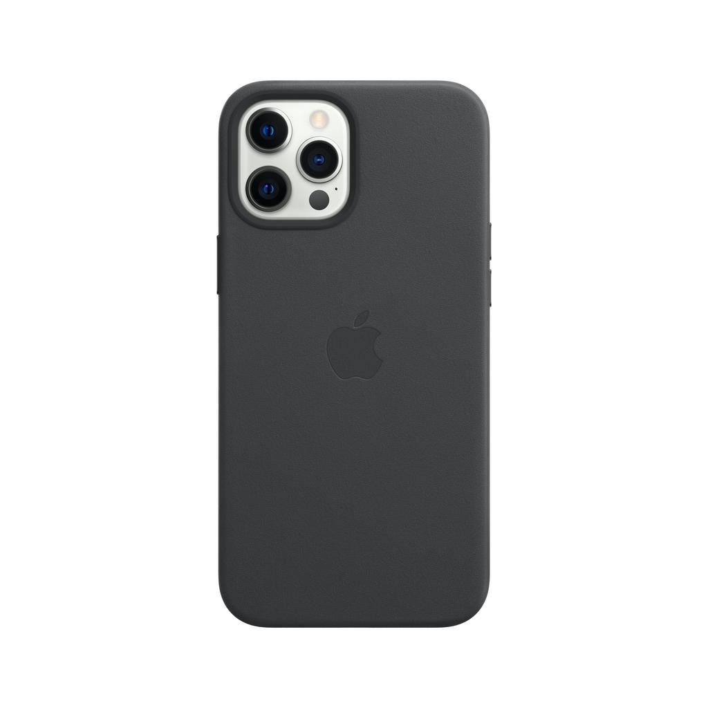 Apple iPhone 12 | 12 Pro Leather Case with MagSafe - Black