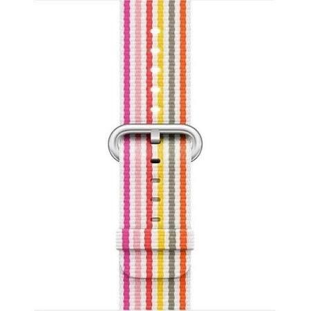 Jump Apple Watch 38mm Pink Stripe Woven Nylon Band (Demo)