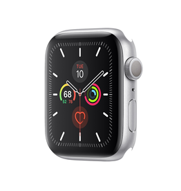 Apple AppleWatch Series 5 GPS, 44mm Silver Aluminum Case Only (Demo)
