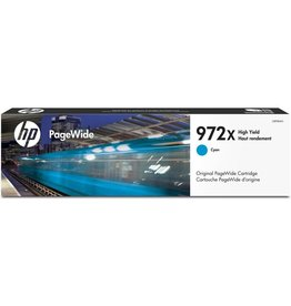 HP 972X  Pagewide Ink Cartridge, 7000 Pages - Cyan
