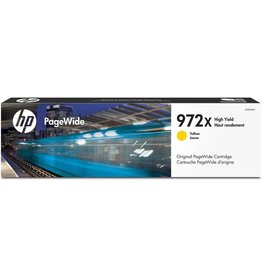 HP 972X  Pagewide Ink Cartridge, 7000 Pages - Yellow