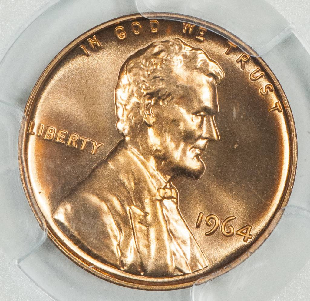 1964 PCGS PR68RD Proof Lincoln Cent