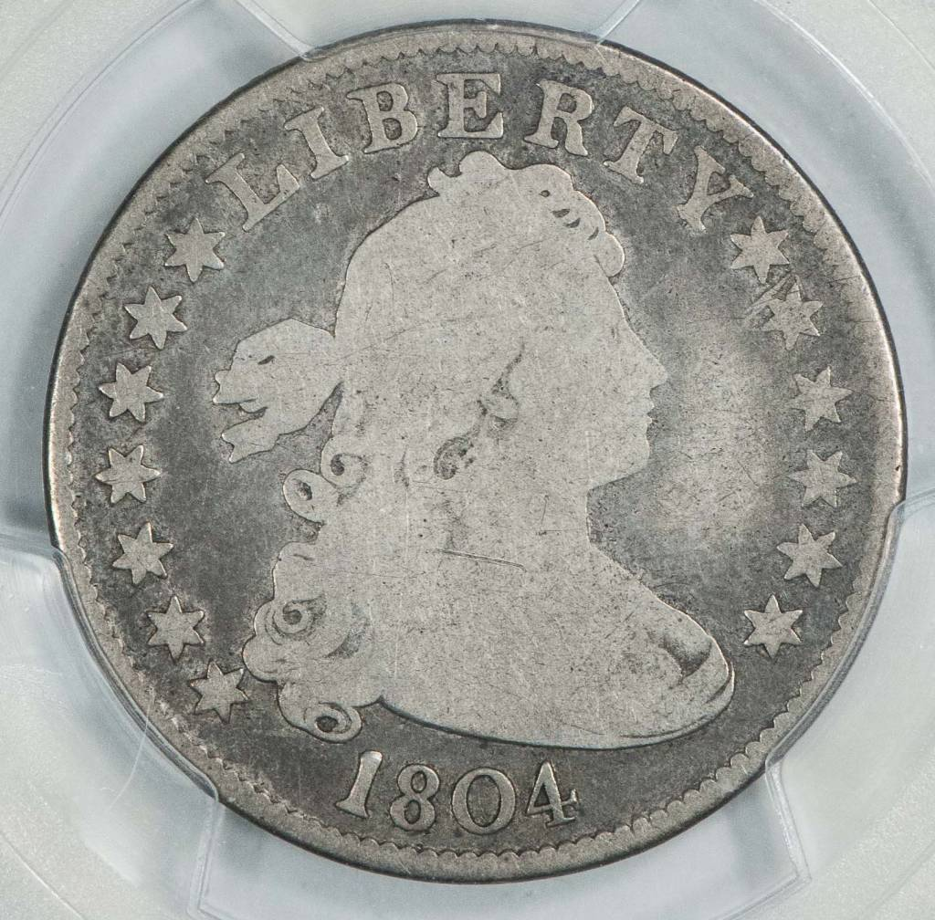 1804 PCGS G06 Draped Bust Quarter