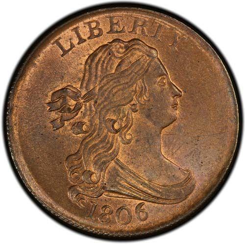 Draped Bust (1800-1808)