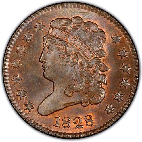 Classic Half Cent (1809-1836)
