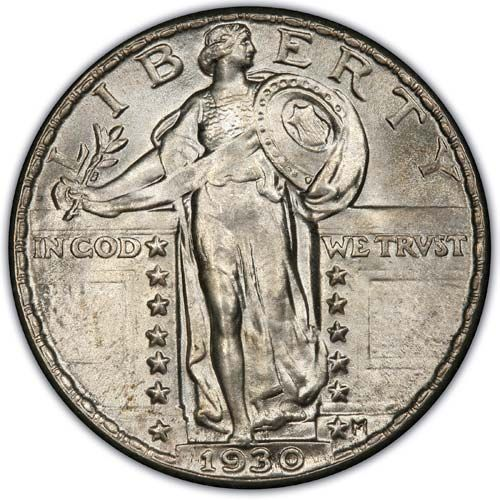 Standing Liberty (1925-1930)