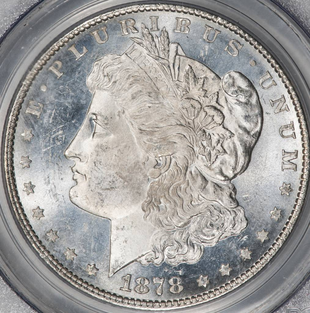 1878 8TF PCGS MS64 Morgan Dollar