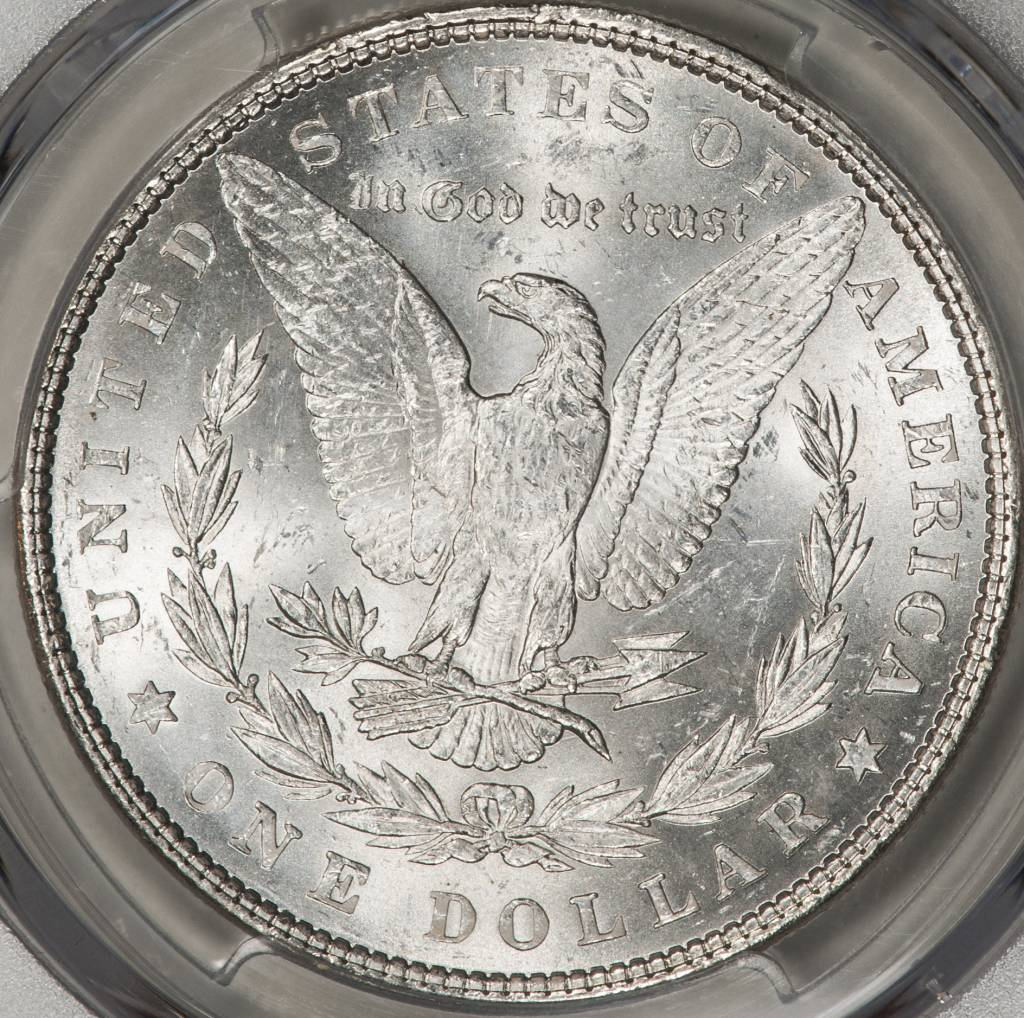 1878 7TF PCGS MS62 REV OF 1879 Morgan Silver Dollar