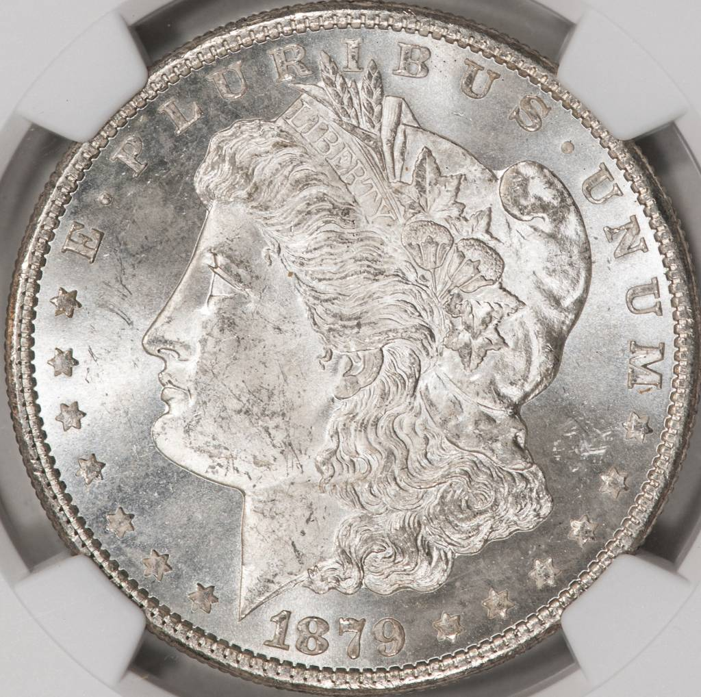 1879-S NGC MS64 Morgan Dollar