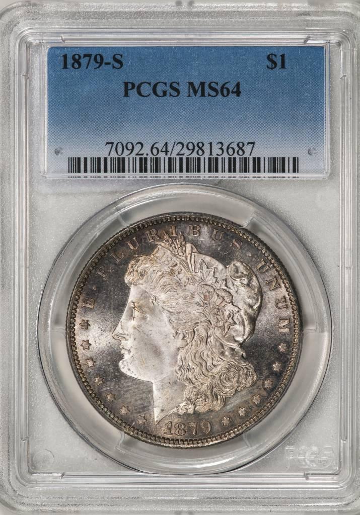 1879-S PCGS MS64 MORGAN DOLLAR