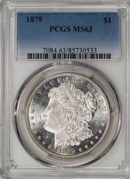 1879 PCGS MS63 Morgan Dollar