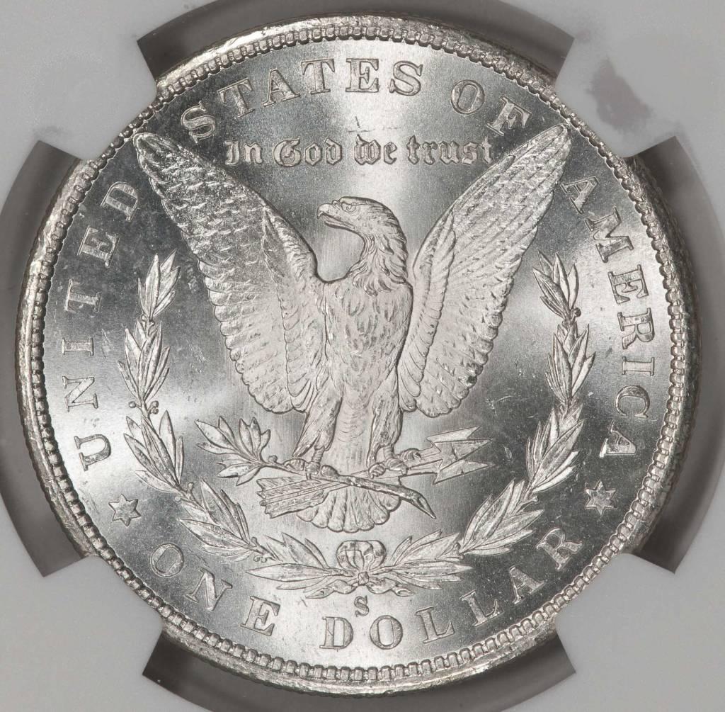 1880-S NGC MS63 Morgan Silver Dollar