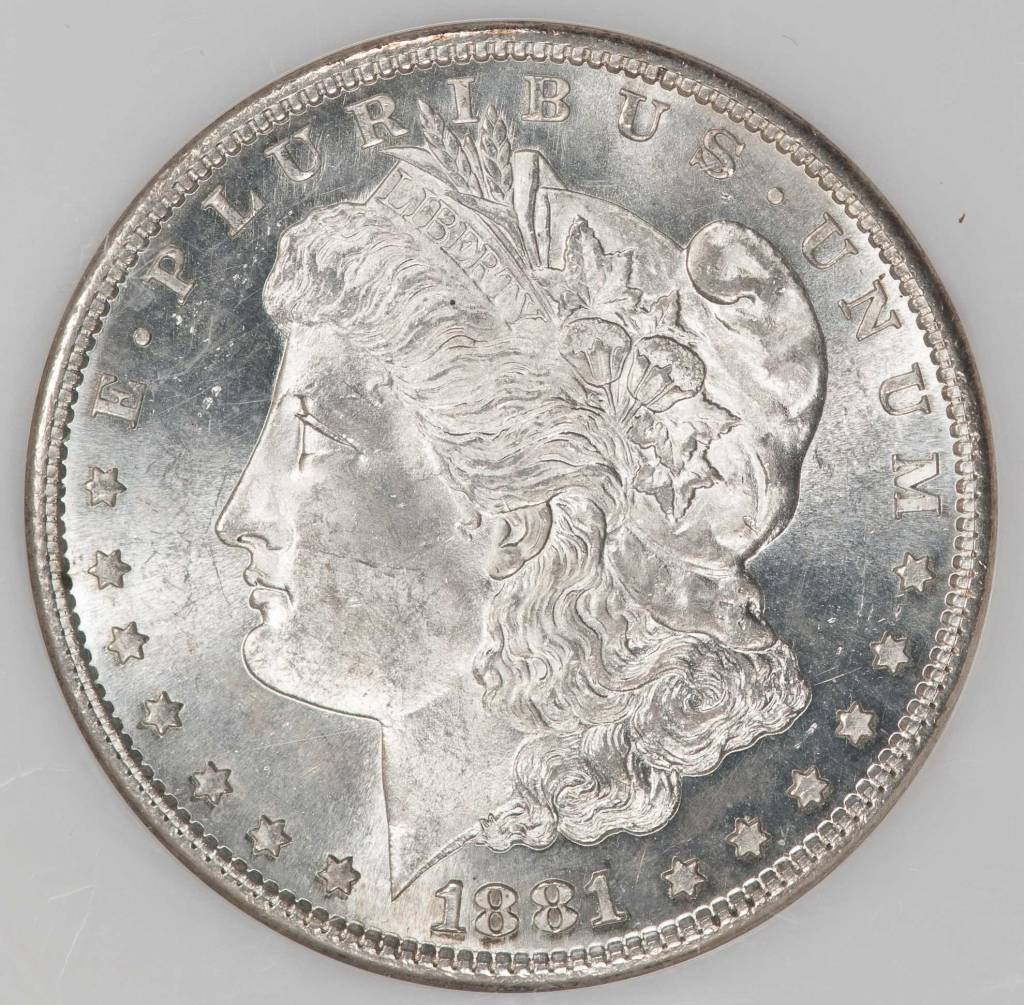 1881 S NGC MS64 Morgan Silver Dollar