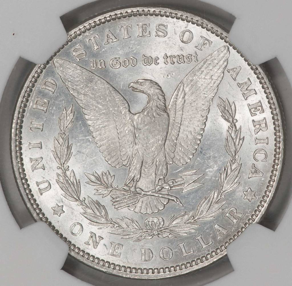 1882 NGC MS60 MORGAN DOLLAR