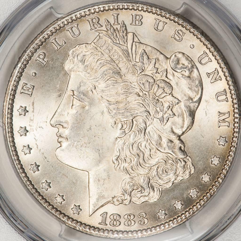 1883-CC PCGS MS65 Morgan Silver Dollar