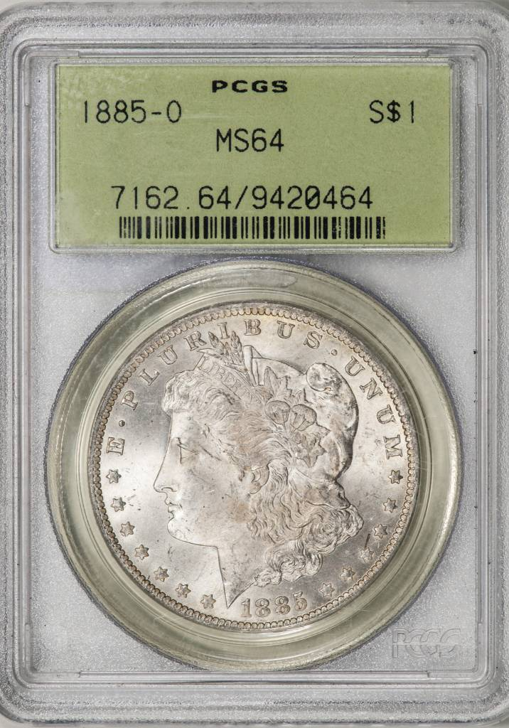 1885-O PCGS MS64 Morgan Silver Dollar