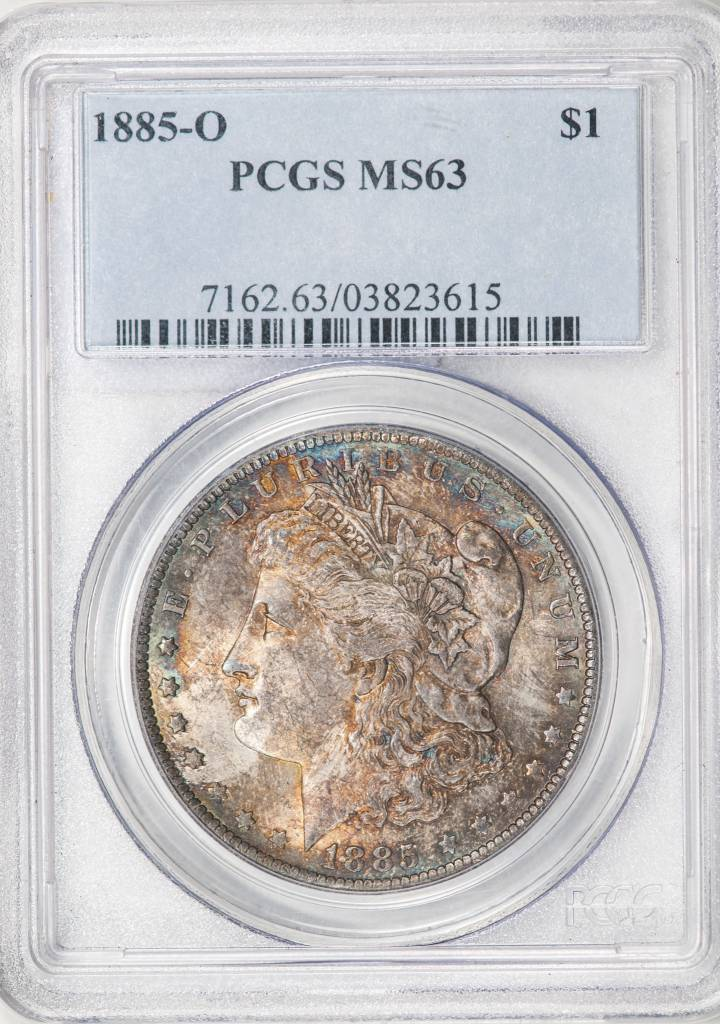 1885 O PCGS MS63 Morgan Silver Dollar