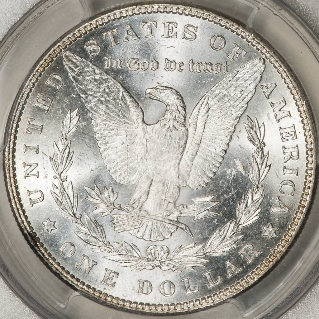 1886 PCGS MS64 Morgan Silver Dollar