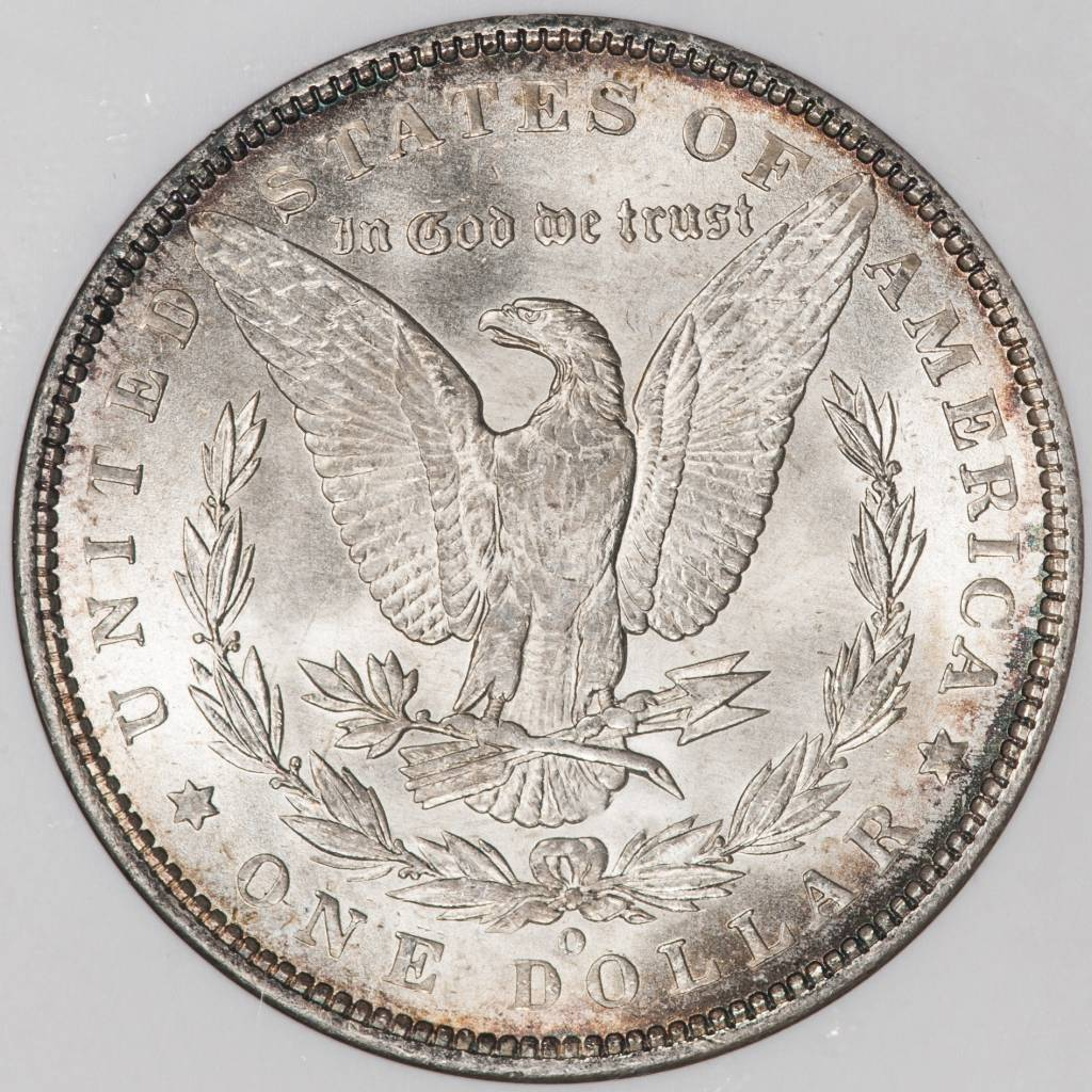 1888 O NGC MS64 VAM 9 Morgan Silver Dollar