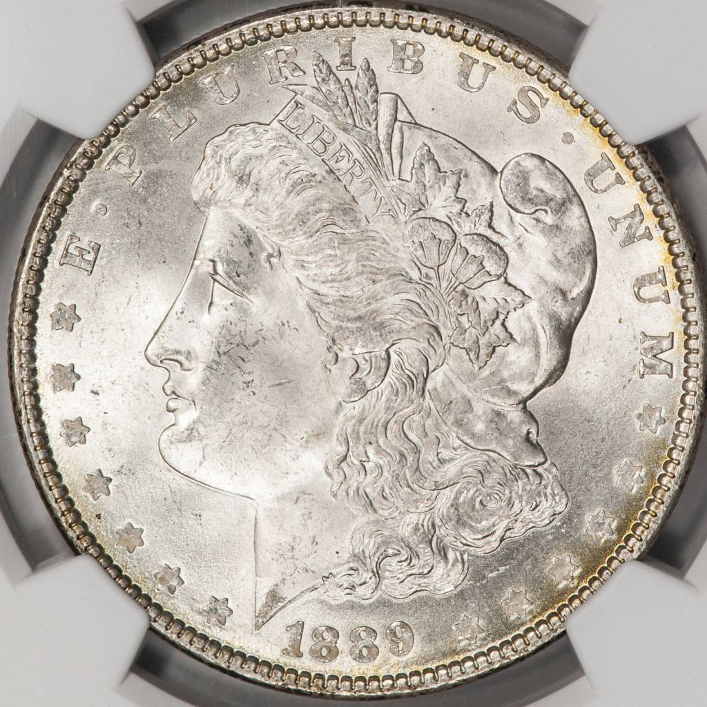 1889 NGS MS64 Morgan Silver Dollar