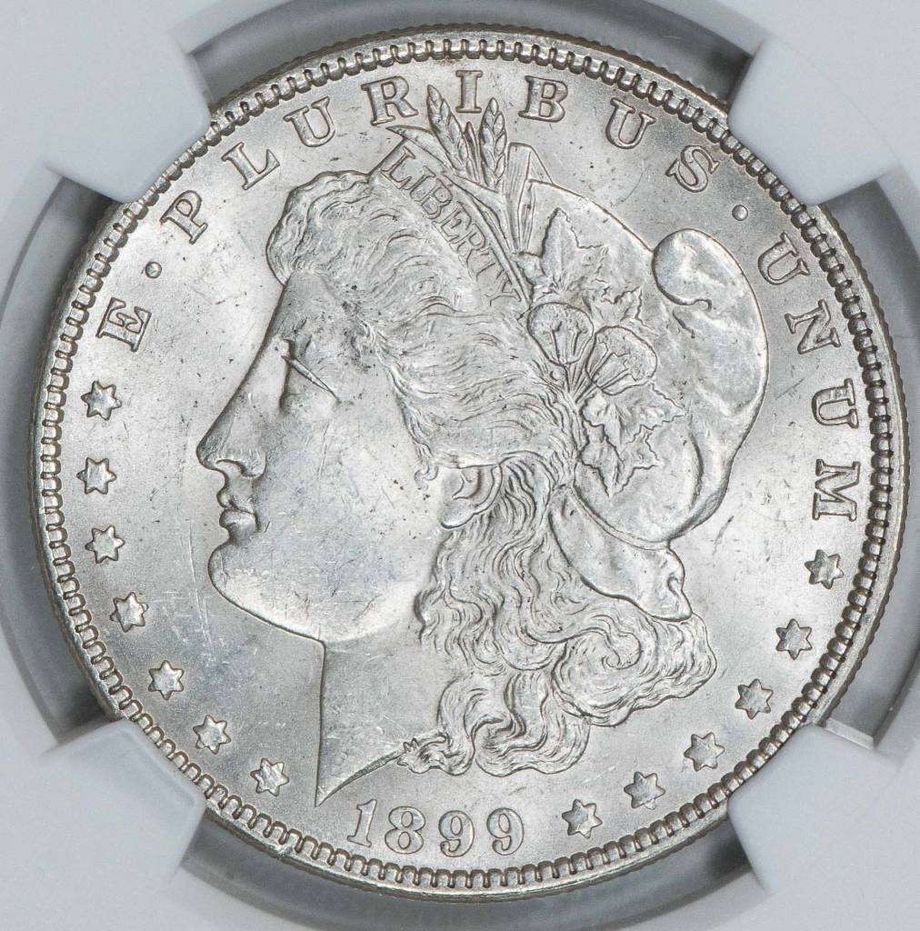 1899 NGC MS62 Morgan Silver Dollar