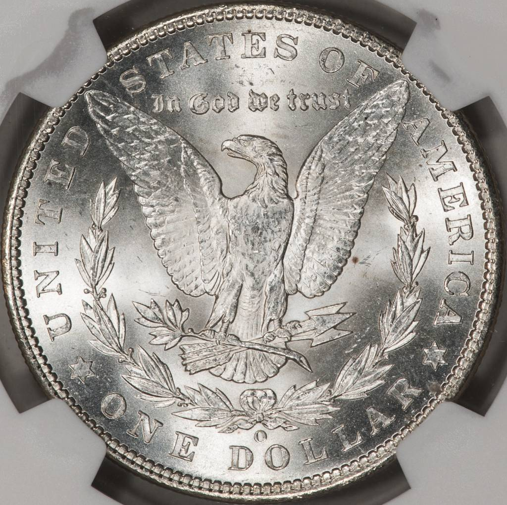1902-O NGC MS62 Morgan Silver Dollar
