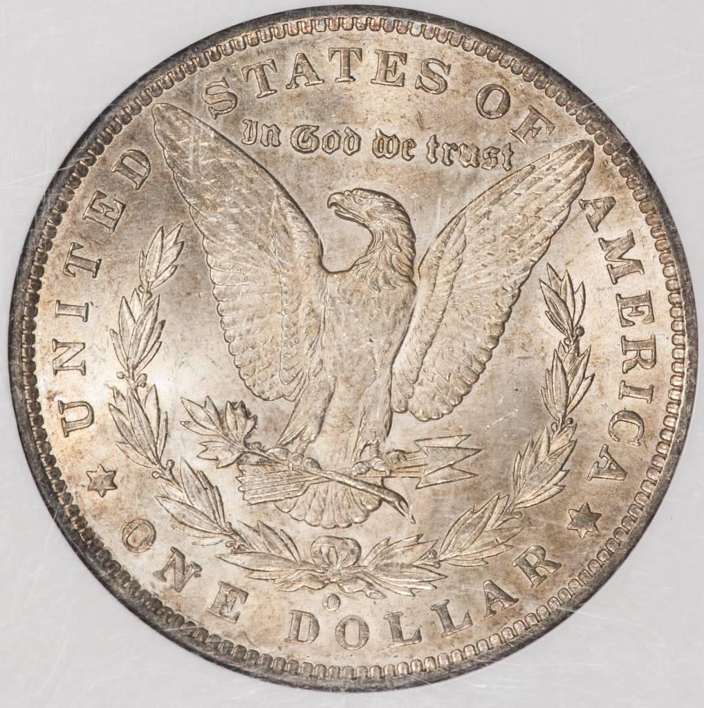 1885 O NGC MS64 Morgan Silver Dollar
