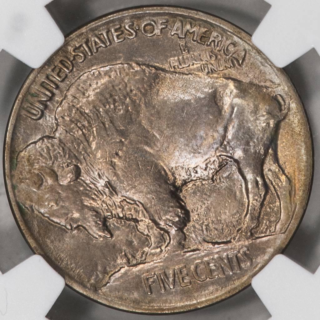 1913 TYPE 1 NGC MS64 Buffalo Nickel