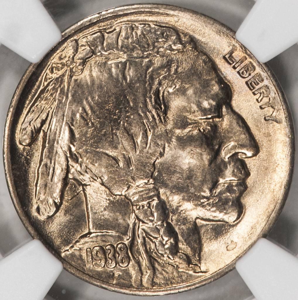 1938 D NGC MS66 Buffalo Nickel