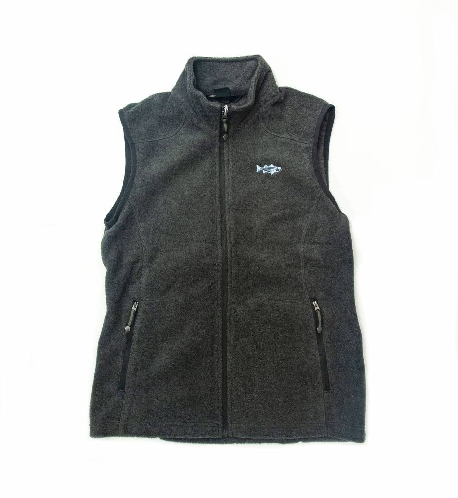 Women's Striper Fleece Vest
