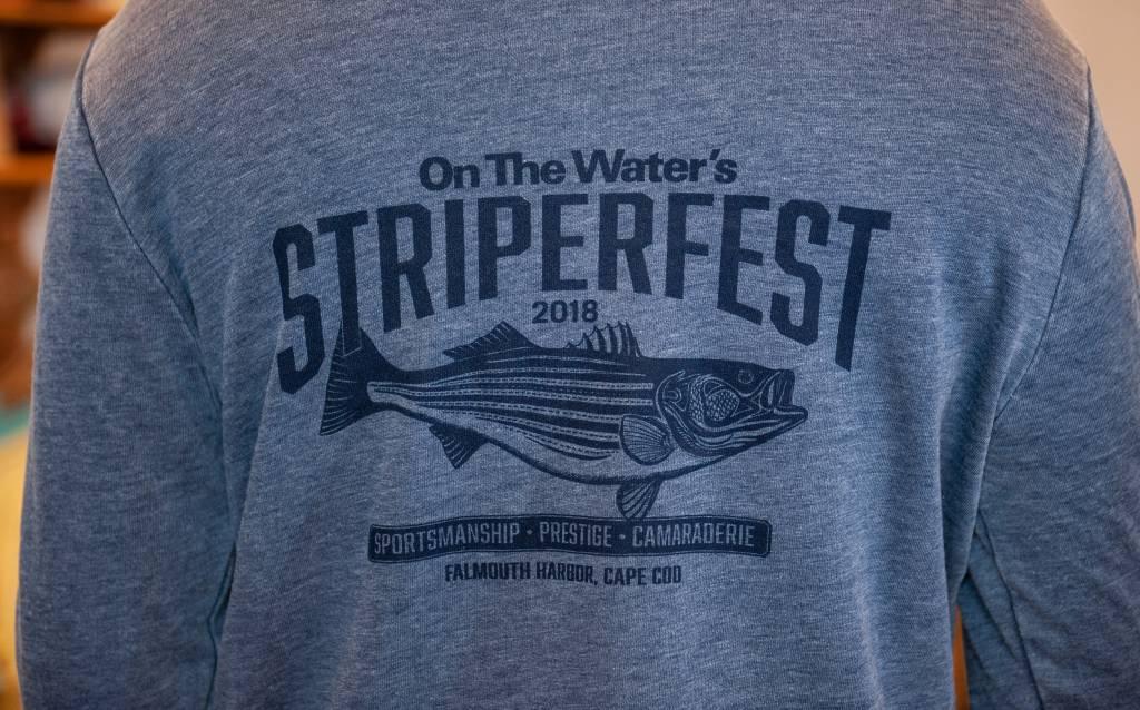 StriperFest Old School  Striper Hoody