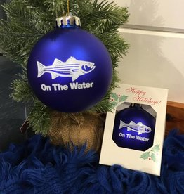 Striped Bass  Christmas Ball