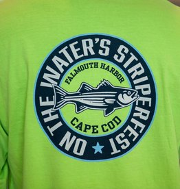 Striper Fest Long Sleeve Retro Circle Tee