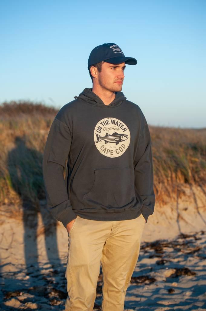 Retro Circle Hooded Sweatshirt