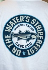 Striper Fest Short Sleeve Retro Circle Tee