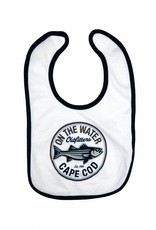 Schoolie Striped Bass Cape Cod Retro Circle Bib