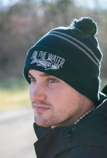 Striped Bass Pom Beanie