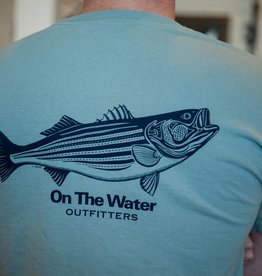 Striper Pen & Ink Pocket T-Shirt