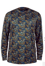Grundéns Grundéns Fish Head Long Sleeve Shirt