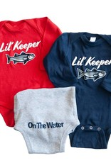 Lil Keeper Long Sleeve Onesie