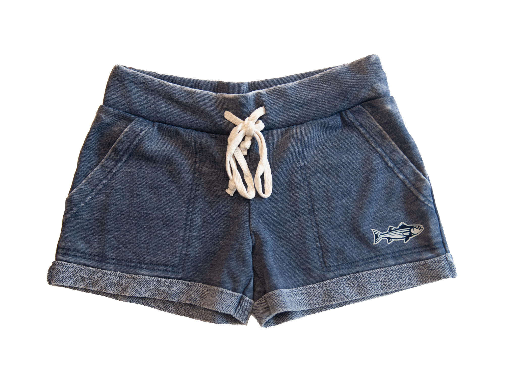 Zen Striped  Bass Shorts Women