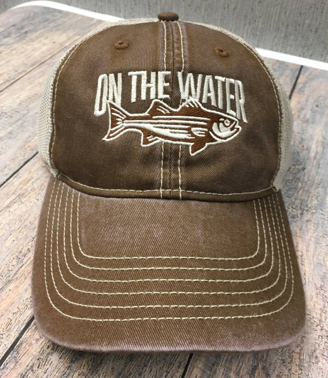 Twill Tea Stain Striper Hat