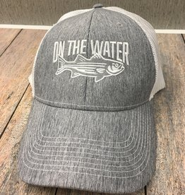 Twill Grey Striper Hat