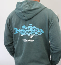 Ombre Multifish Blue Spruce Full Zip Hoody