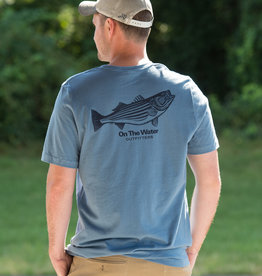 Lightweight Pen & Ink Striper Tee